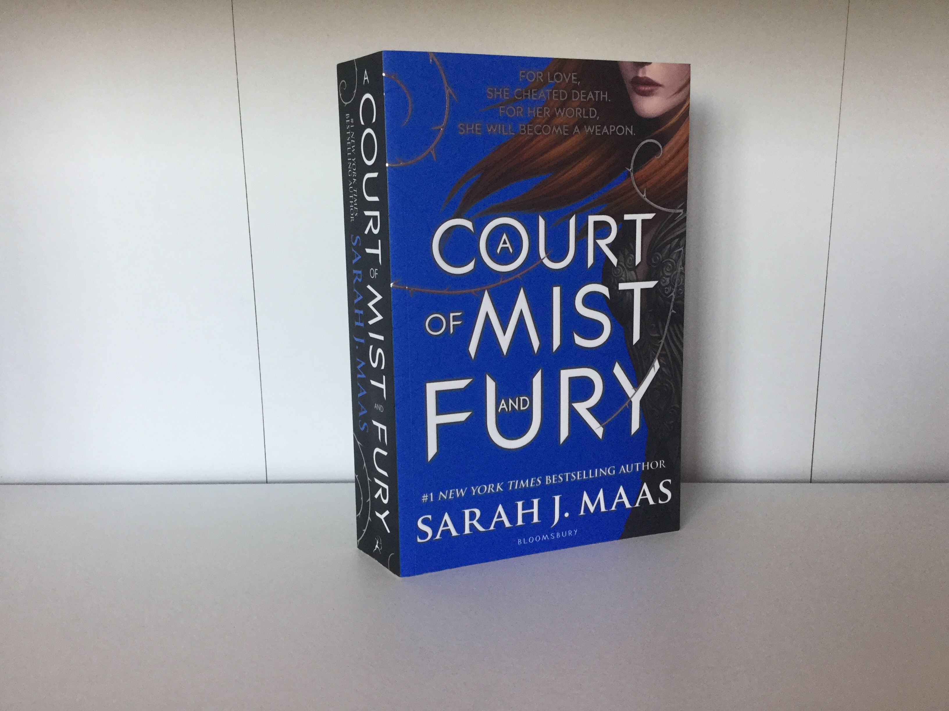 The cover of A Court of Mist and Fury by Sarah J. Maas