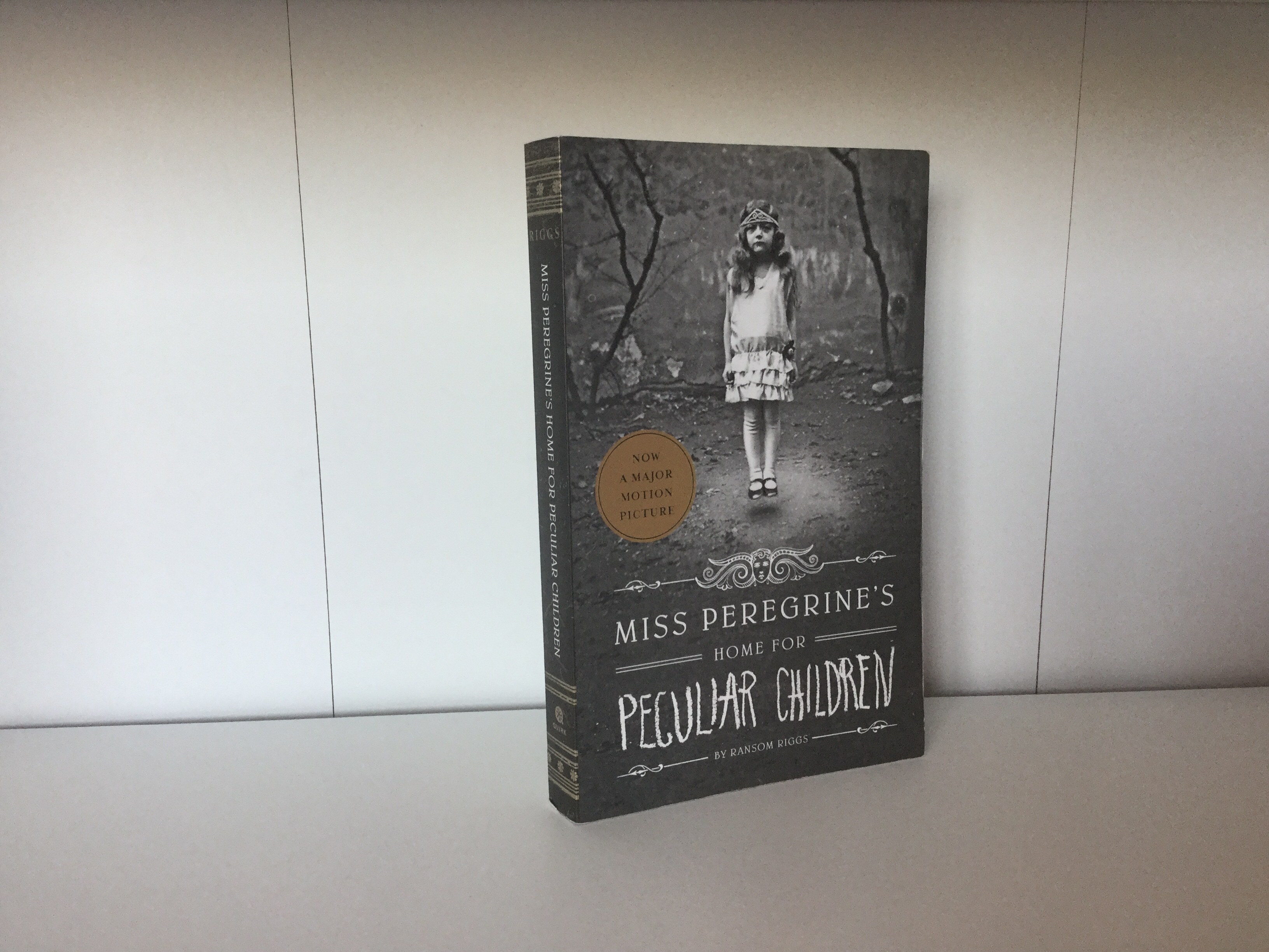 The cover of Miss Peregrine's Home for Peculiar Children by Ransom Riggs