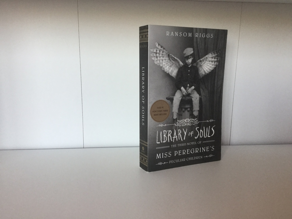 The cover of Library of Souls by Ransom Riggs