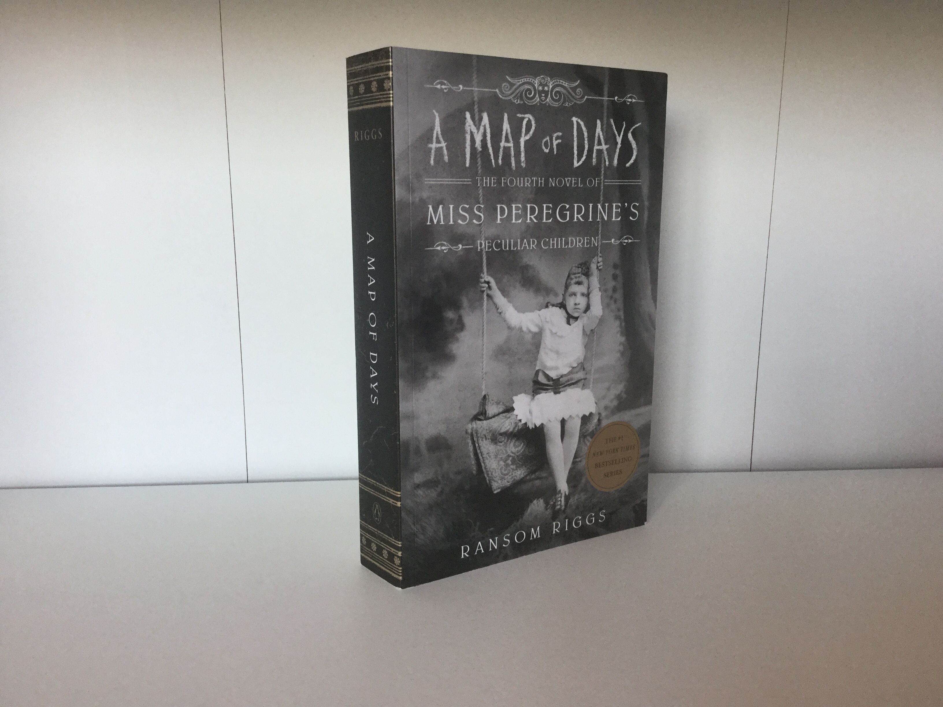 The cover of A Map of Days by Ransom Riggs