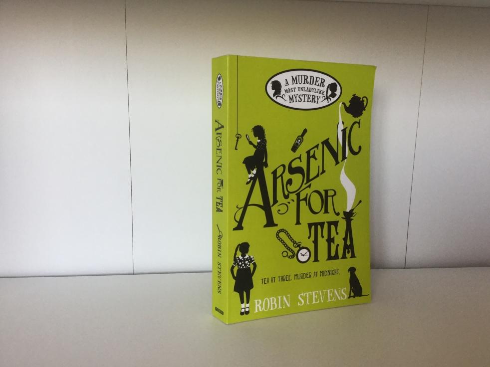 The cover of Arsenic for Tea by Robin Stevens