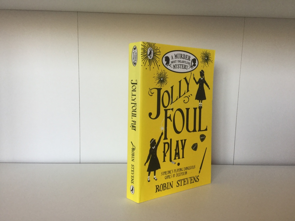 The cover of Jolly Foul Play by Robin Stevens