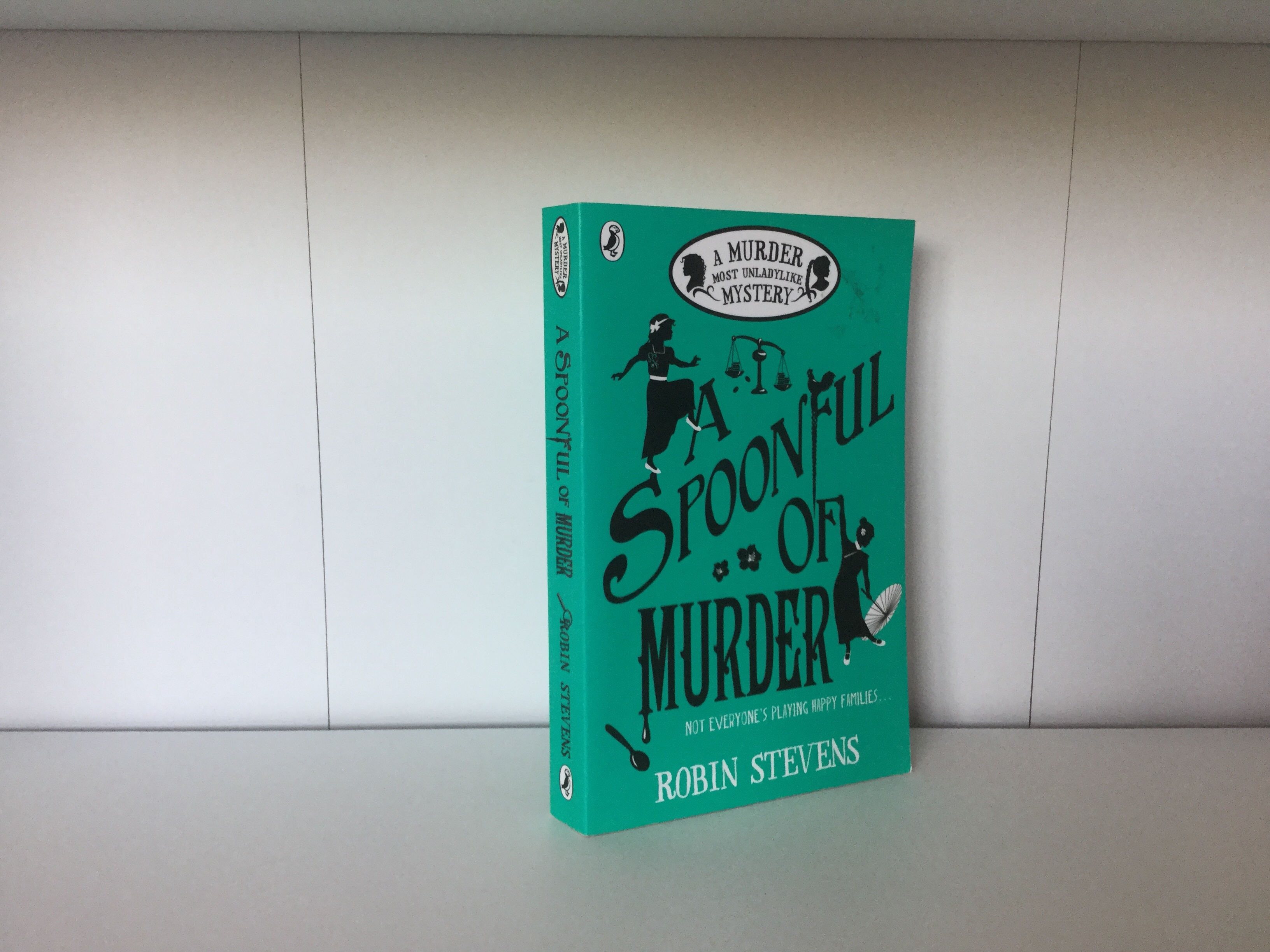 The cover of A Spoonful of Murder by Robin Stevens