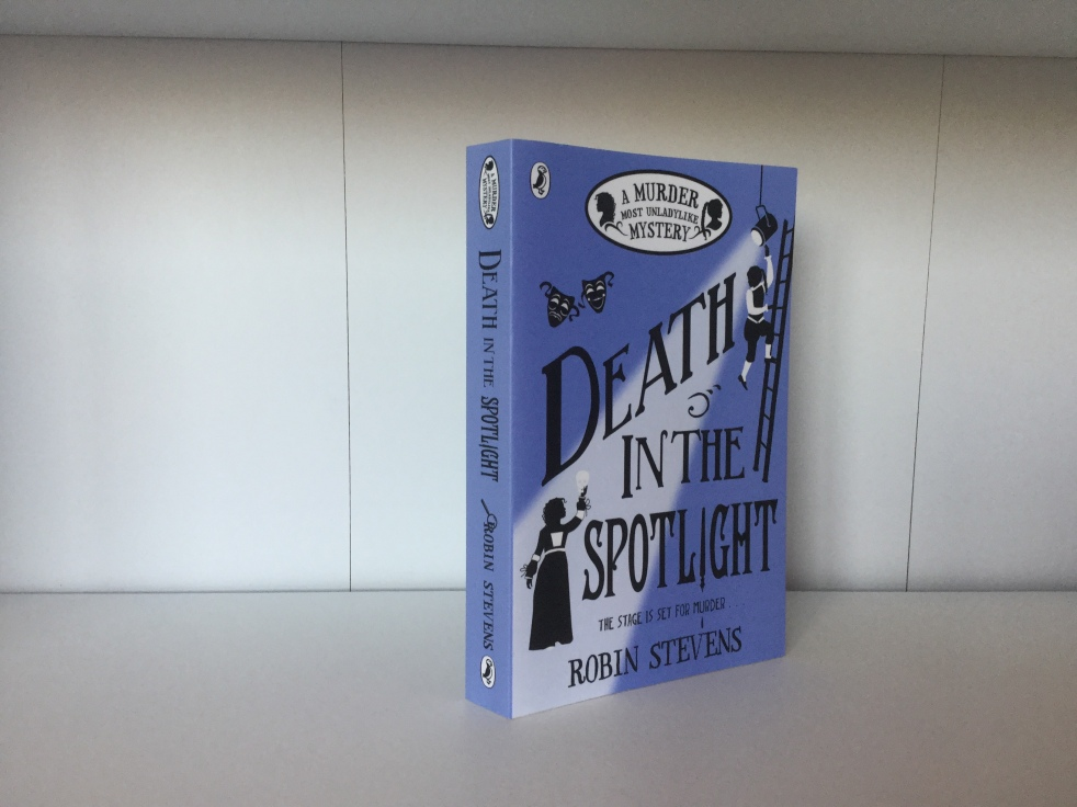 The cover of Death in the Spotlight by Robin Stevens