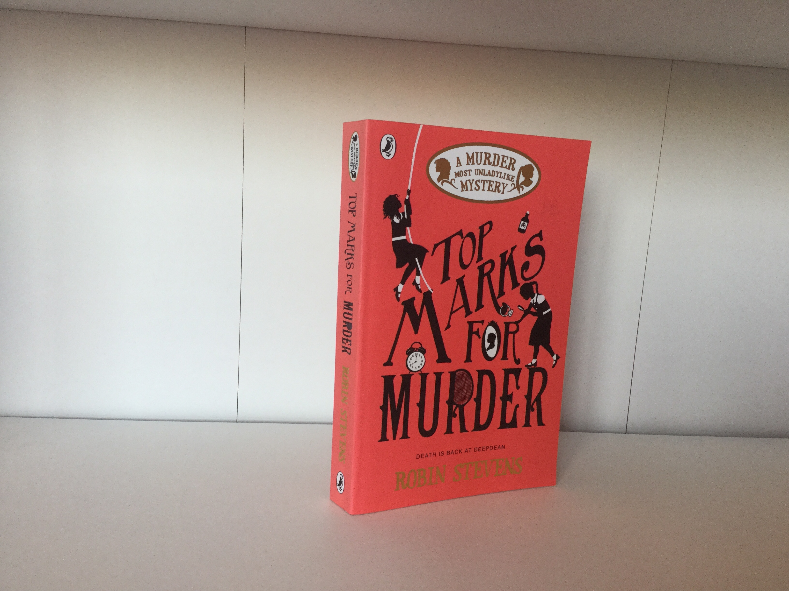 The cover of Top Marks for Murder by Robin Stevens