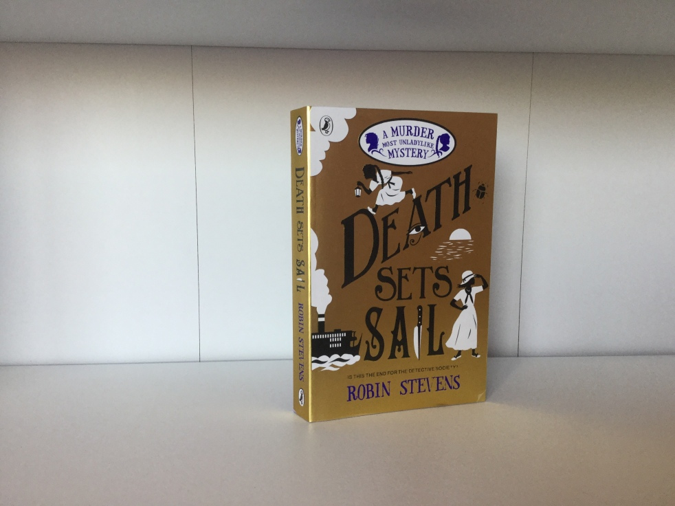 The cover of Death Sets Sail by Robin Stevens
