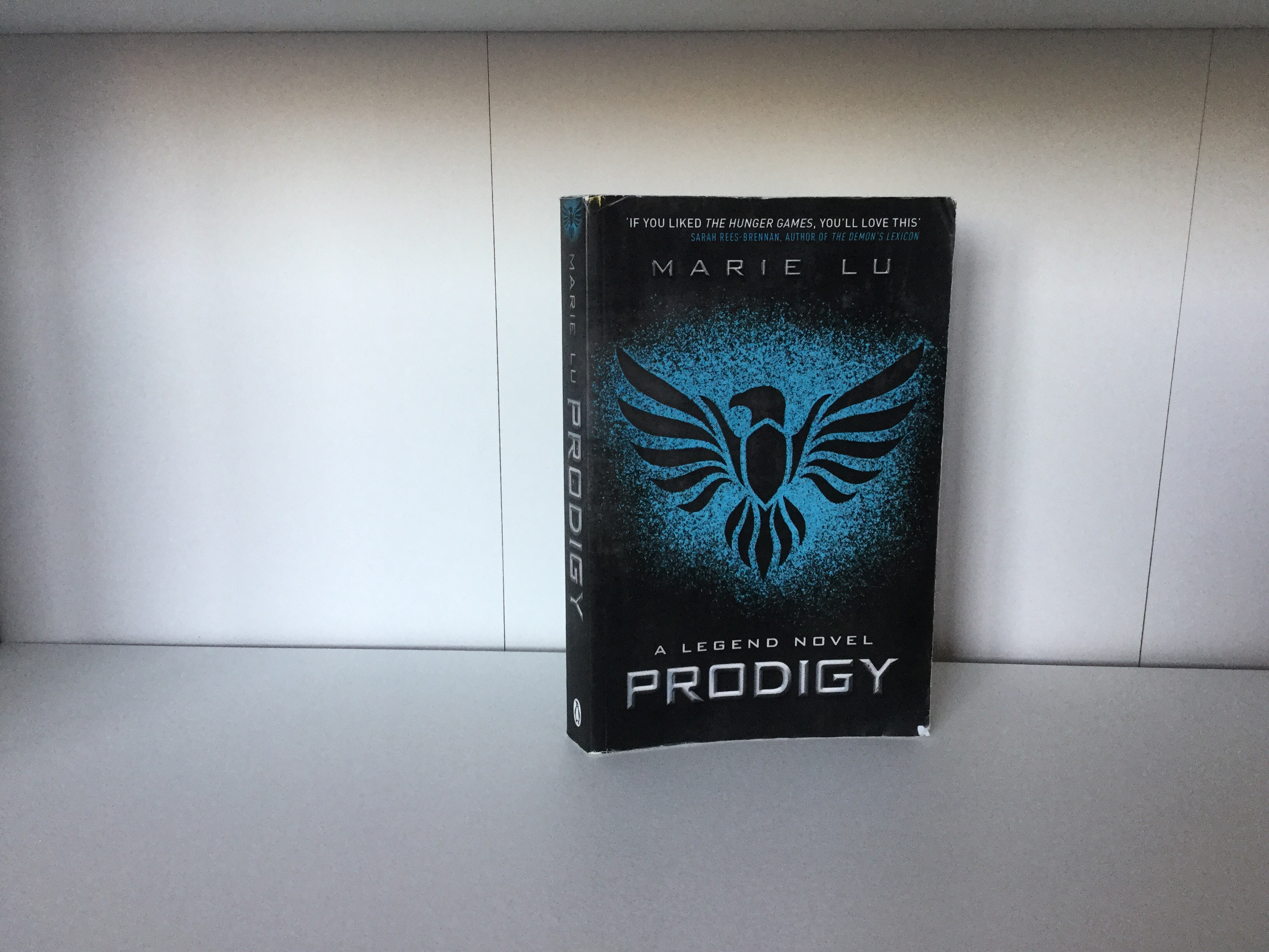 The cover of Prodigy by Marie Lu