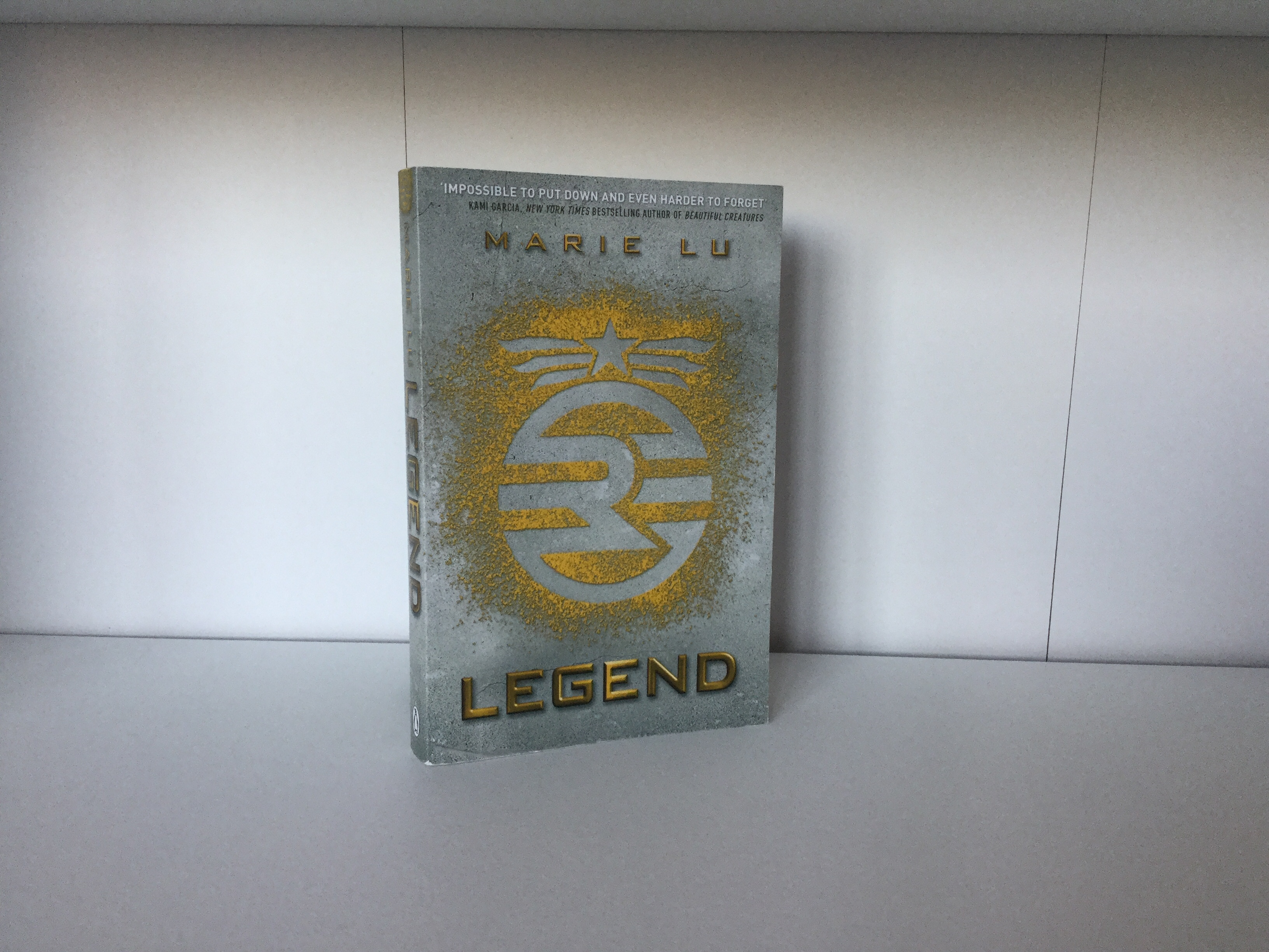 The cover of Legend by Marie Lu