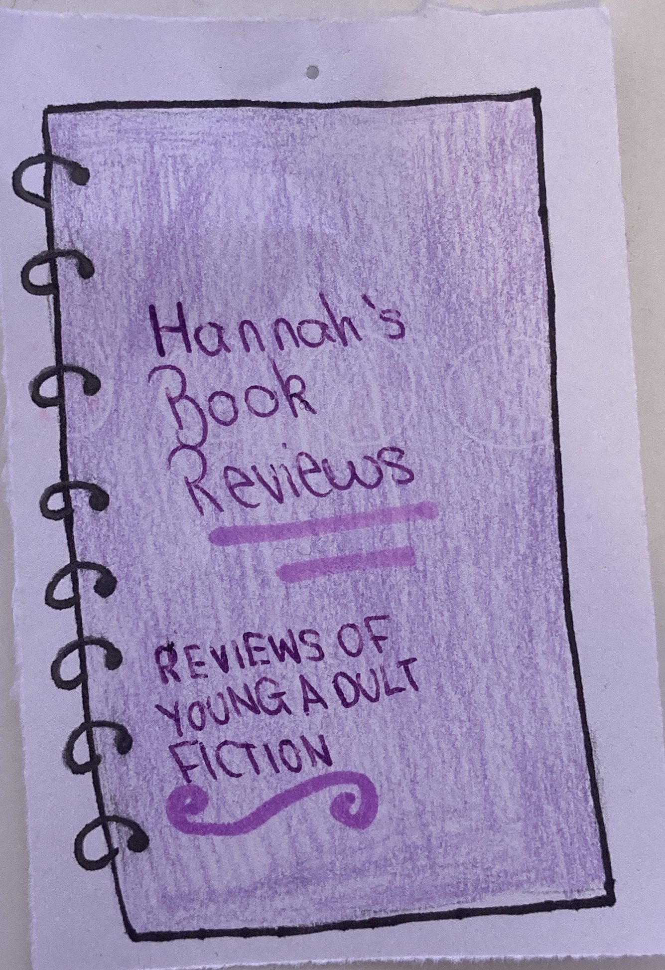Hannah's Book Reviews
