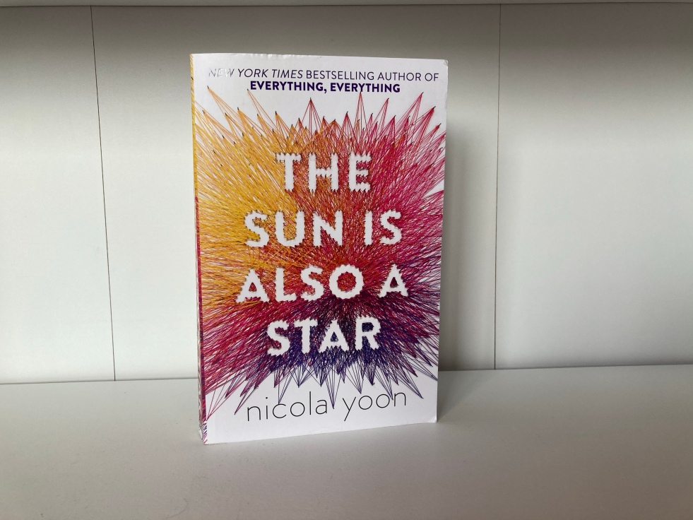 The cover of The Sun is Also a Star by Nicola Yoon