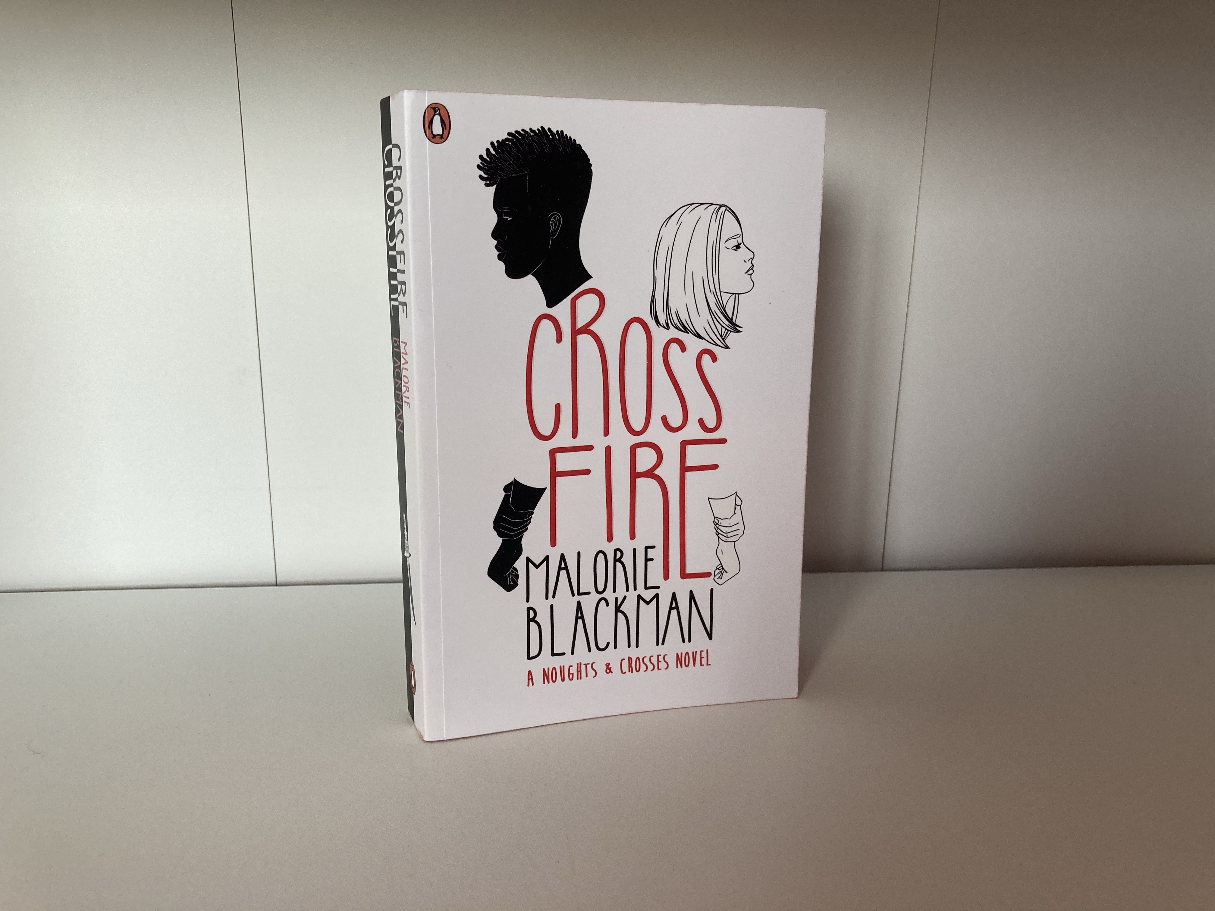 The cover of Crossfire by Malorie Blackman