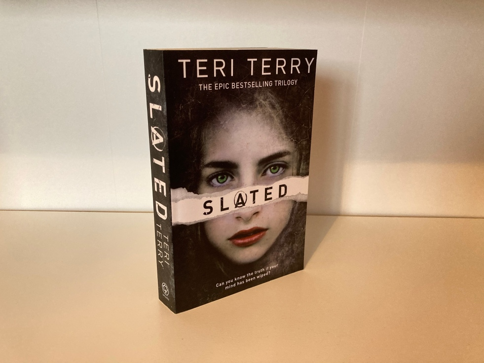 The cover of Slated by Teri Terry