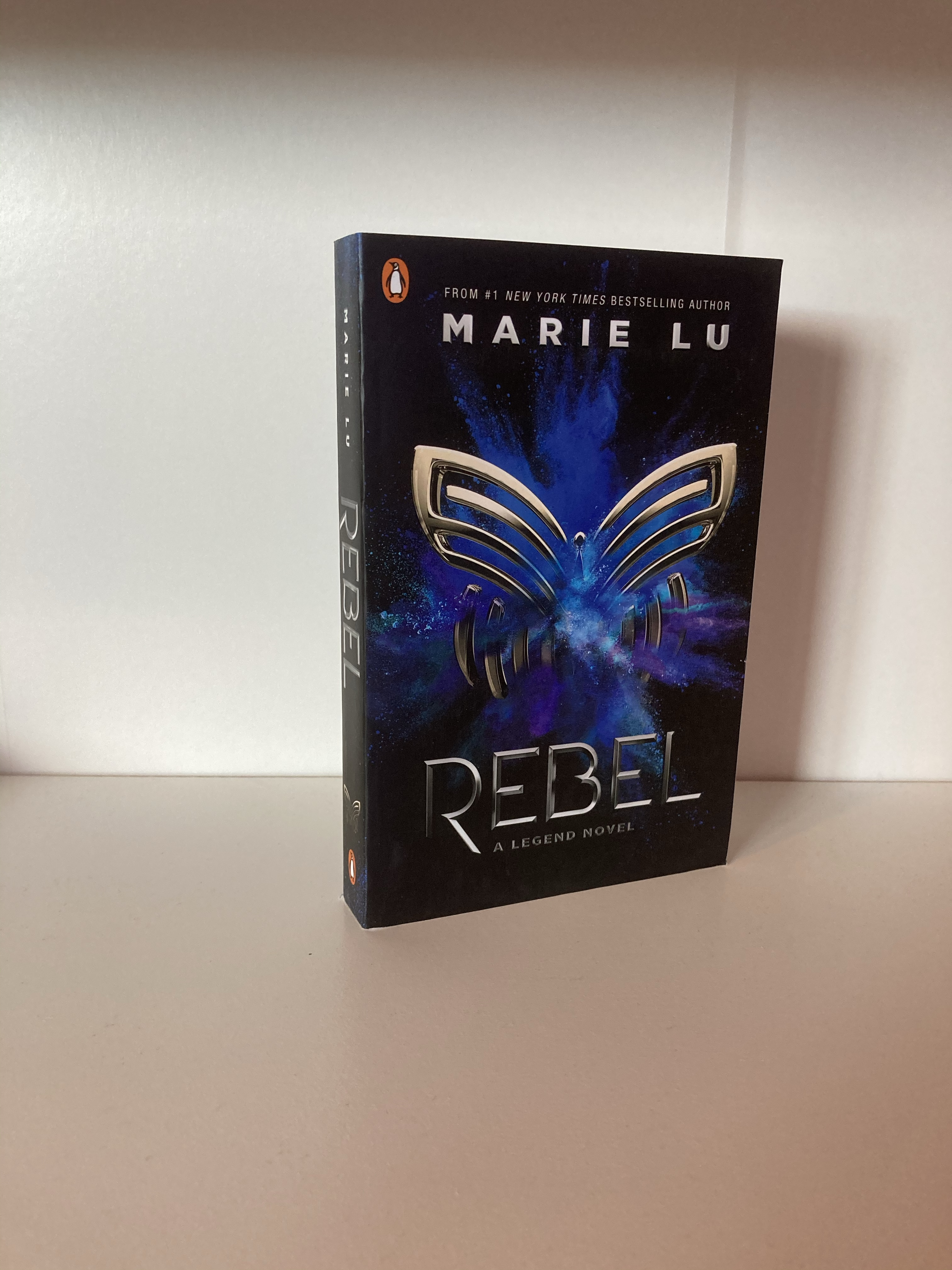 The cover of Rebel by Marie Lu