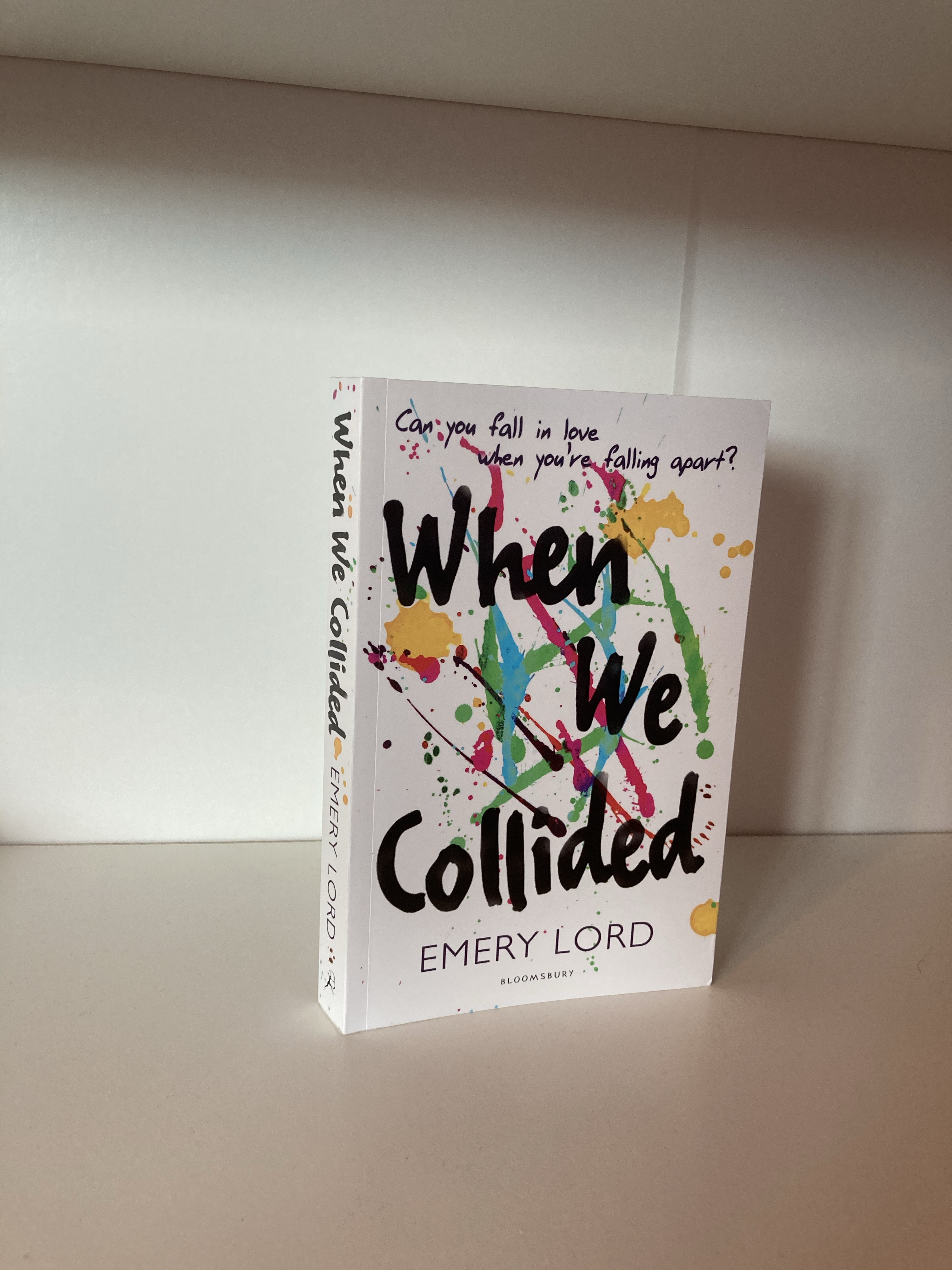 The cover of When We Collided by Emery Lord
