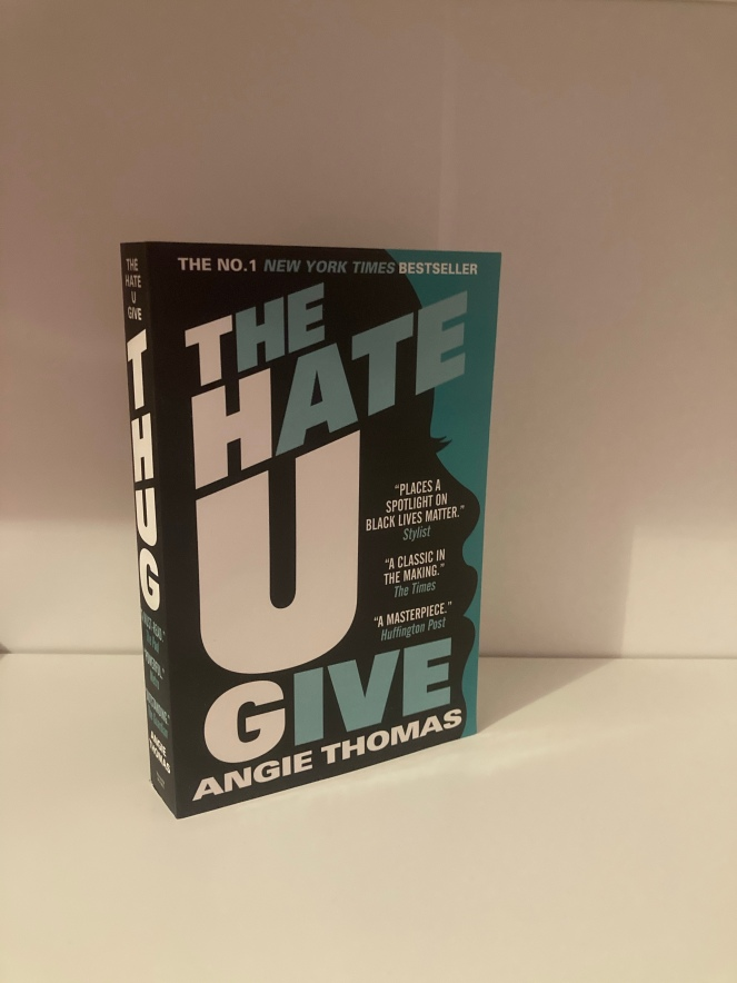The cover of The Hate U Give by Angie Thomas