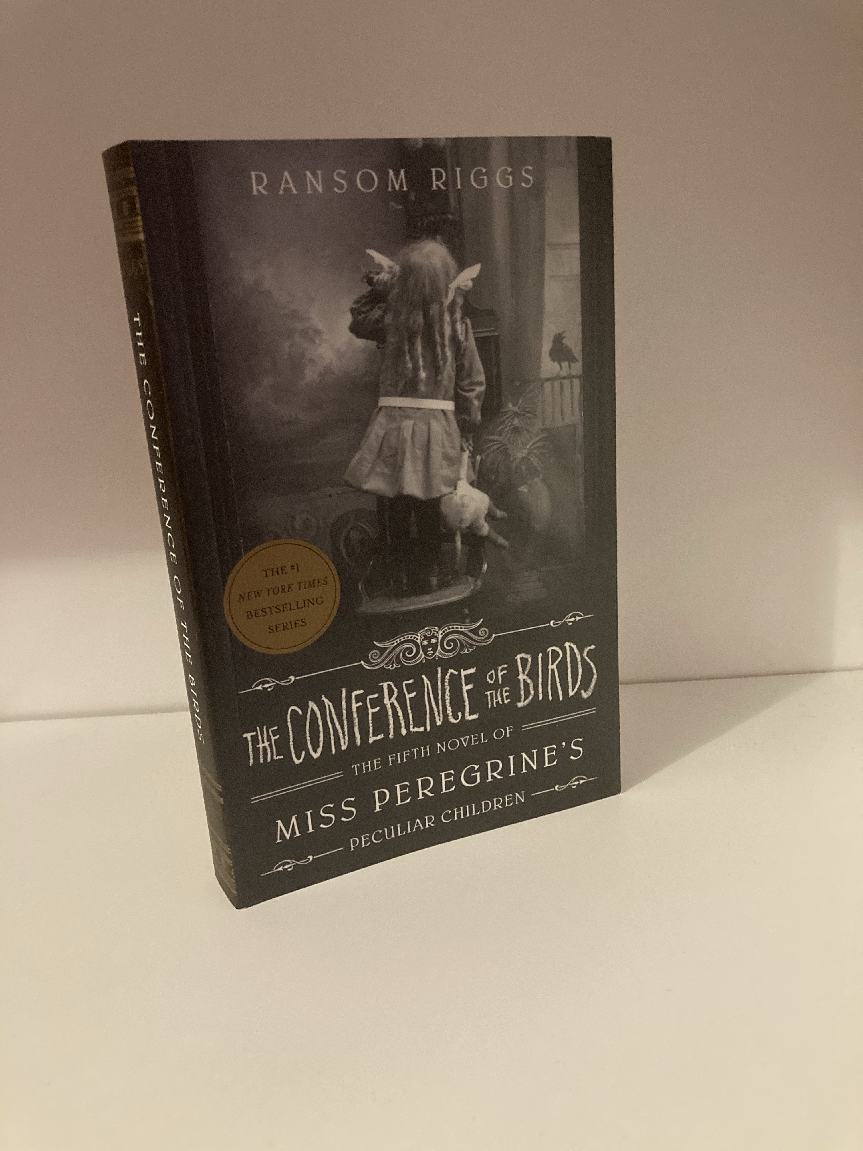 The cover of The Conference of the Birds by Ransom Riggs