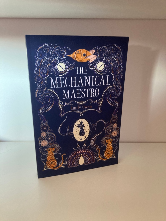 The cover of The Mechanical Maestro by Emily Owen