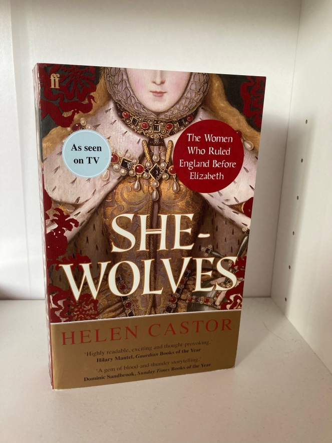 The cover of She-Wolves by Helen Castor