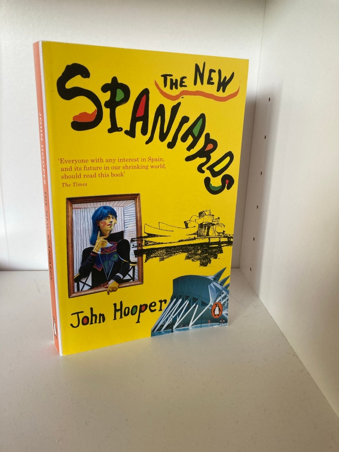 The cover of The New Spaniards by John Hooper