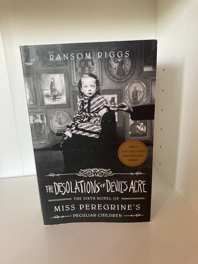 The cover of The Desolations of Devil's Acre by Ransom Riggs