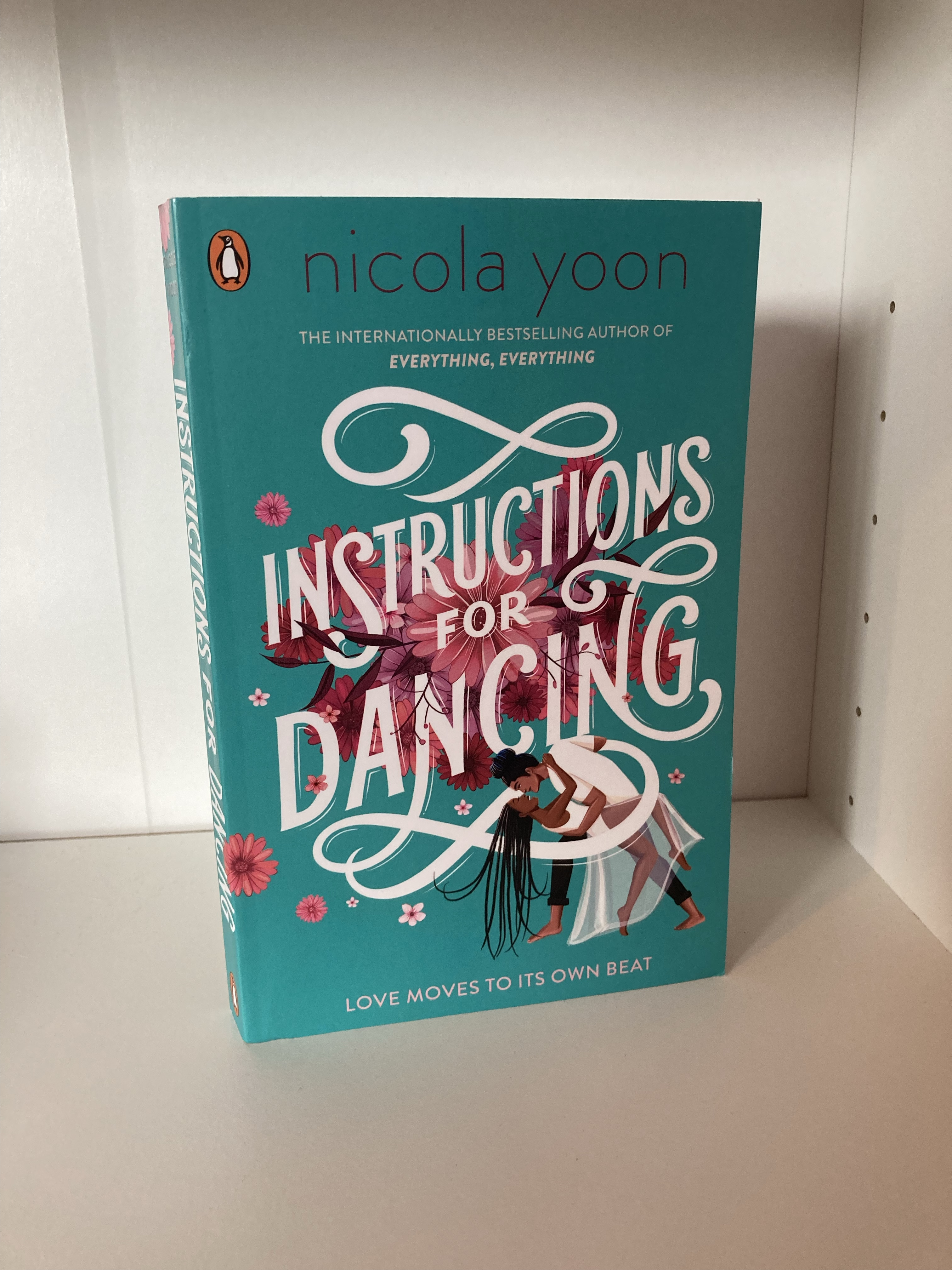 The cover of Instructions for Dancing by Nicola Yoon